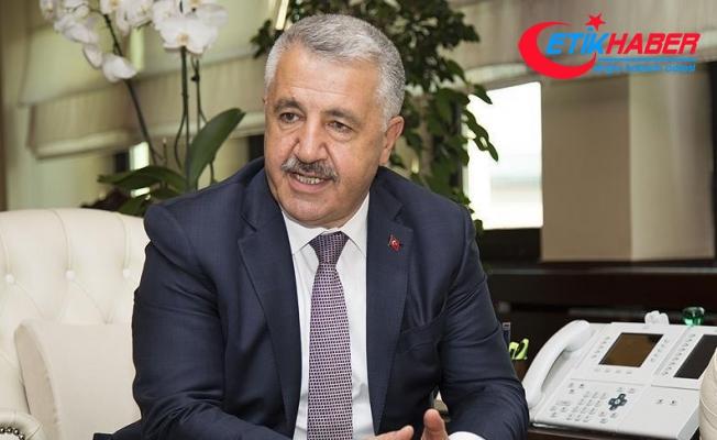 Bakan Arslan: Kanal İstanbul müteahhitlik sektörünün pik noktası olacak