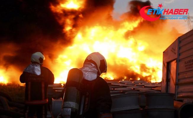 Başkentte Hurdacılar Sitesi'nde yangın