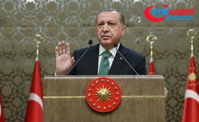 Erdoğan: Suriye'nin kuzeyinde sözde devlet asla kurdurmayız