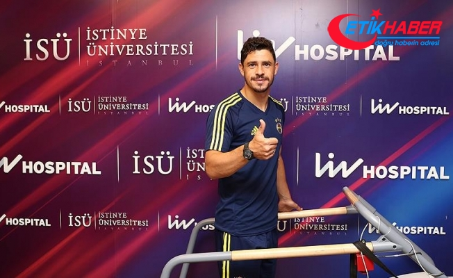 Fenerbahçe'de Giuliano sağlık kontrolünden geçirildi