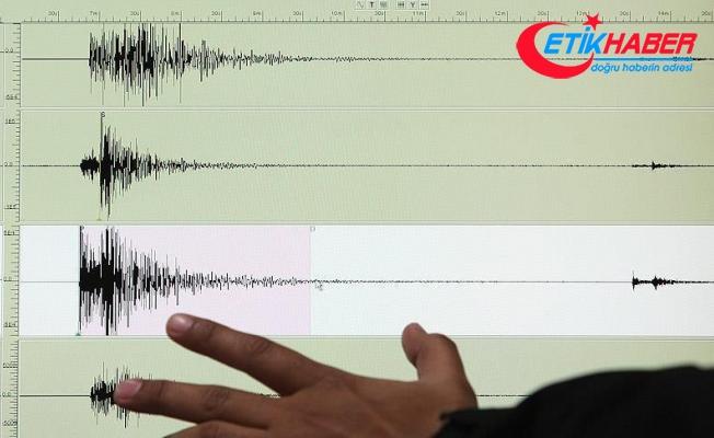 Muğla'da 4,8 büyüklüğünde deprem