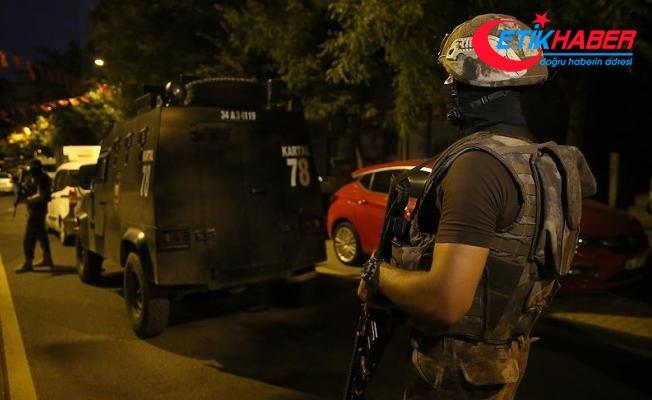 İstanbul'da şafak vakti uyuşturucu operasyonu