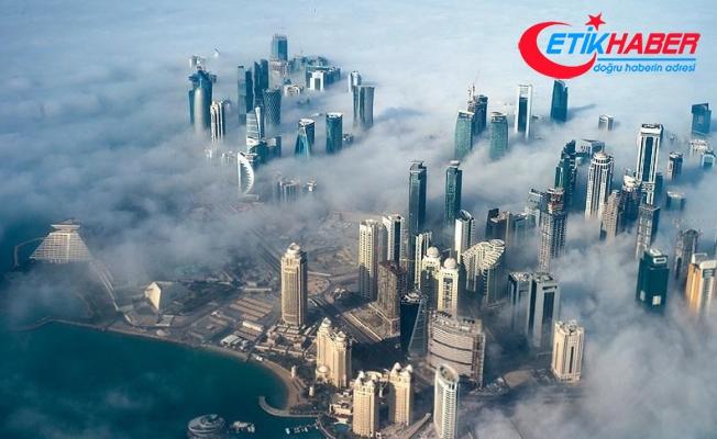Katar yeni hava koridorları kullanmaya başladı