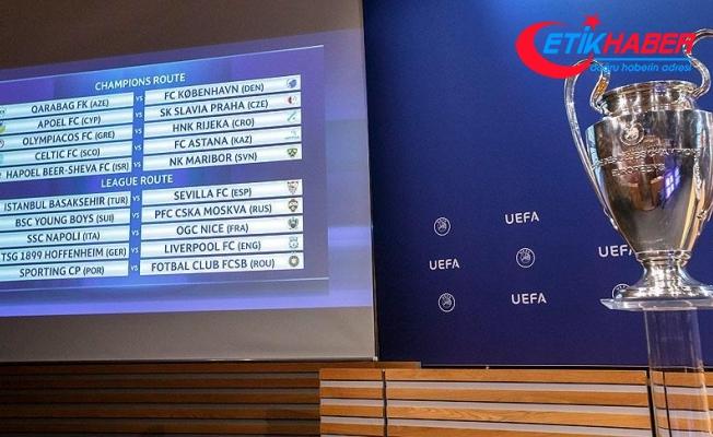 Medipol Başakşehir ve Fenerbahçe'nin rakipleri belli oldu