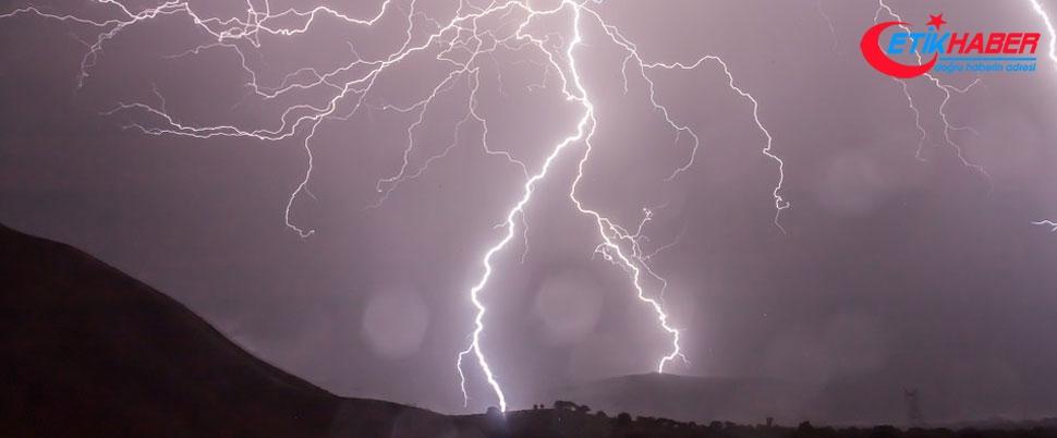 Meteoroloji'den sağanak yağış ve dolu yağışı uyarısı!