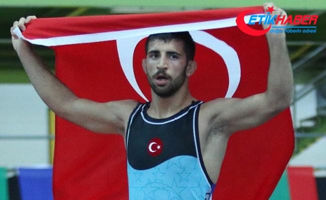 Milli güreşçi Kamal'dan altın madalya