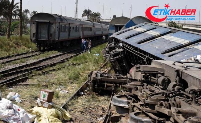 Mısır'da tren kazası: 20 ölü