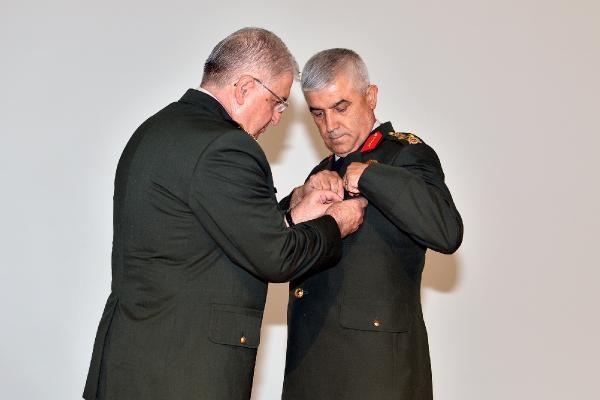 Orgeneral Güler, Jandarma Genel Komutanlığı görevini Orgeneral Çetin'e devretti