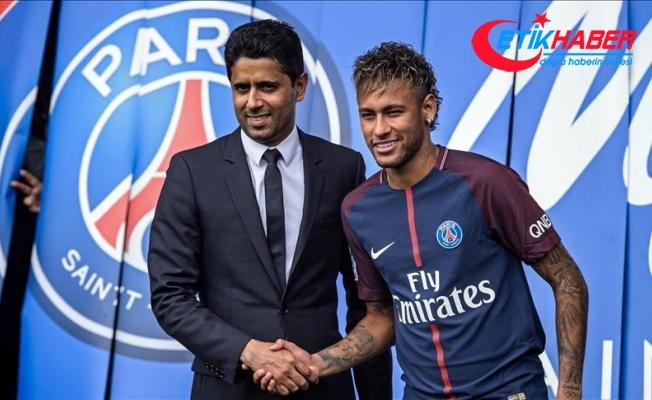 Paris Saint-Germain, Neymar'ı basına tanıttı