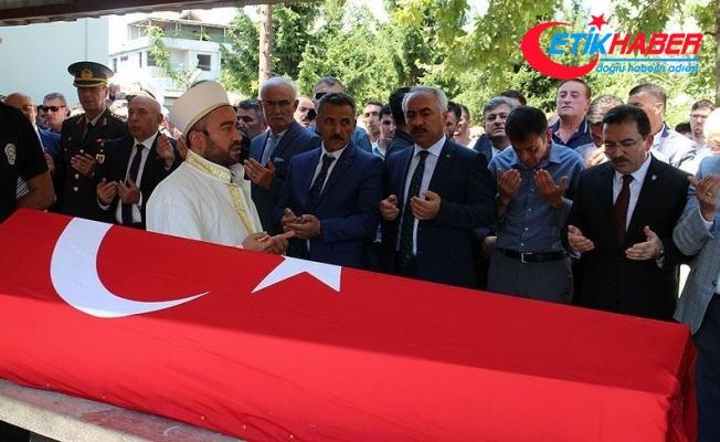Silivri Emniyet Müdürü Çalışkan'ın cenazesi toprağa verildi