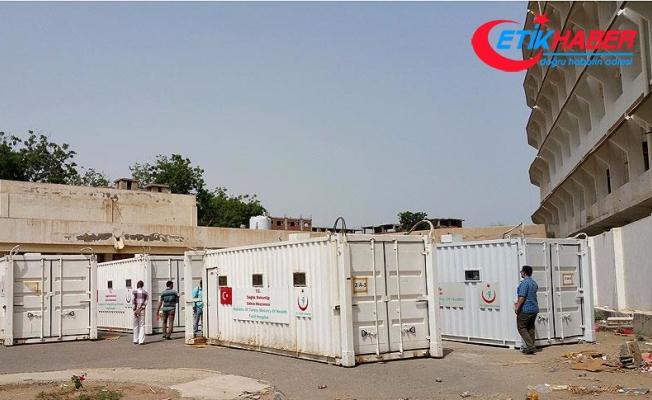 Türk Kızılayından Yemen'e tıbbi yardım