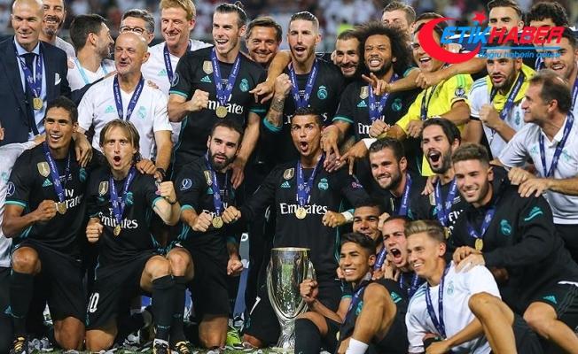 UEFA Süper Kupa'nın sahibi Real Madrid