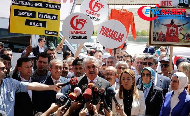 Yazıcı: AK Parti Akıncı Üssü davasına müdahil olma isteminde bulunacak