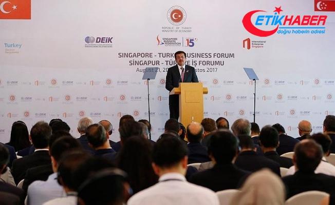 Zeybekci: Singapur ile 2 milyar dolarlık dış ticaret hedefi