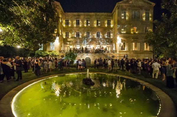 15. İstanbul Bienali'nin açılış töreni Fransa Sarayı Bahçesi'nde yapıldı
