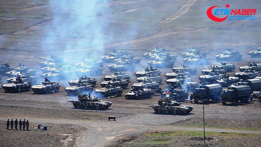 Azerbaycan ordusu geniş kapsamlı tatbikat yapacak