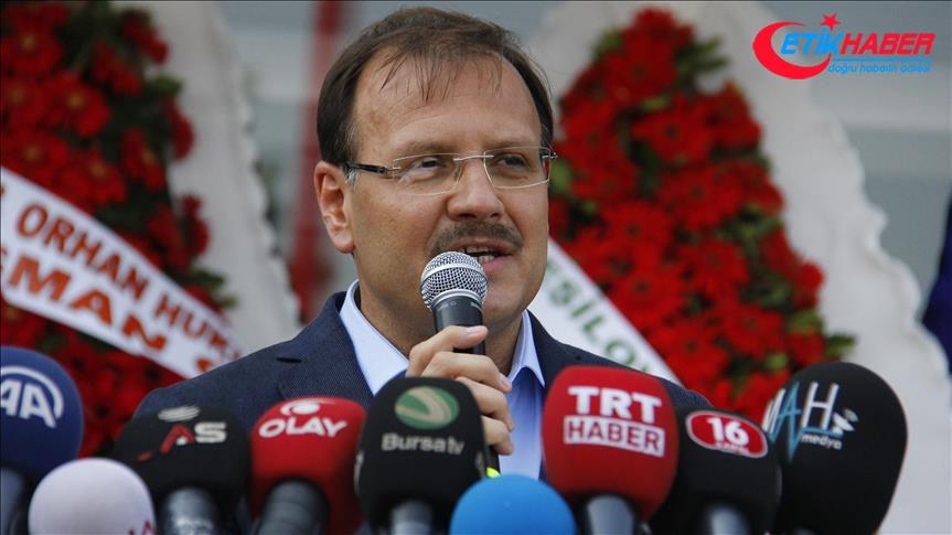 Başbakan Yardımcısı Çavuşoğlu: Barzani referandum kararını gözden geçirmeli