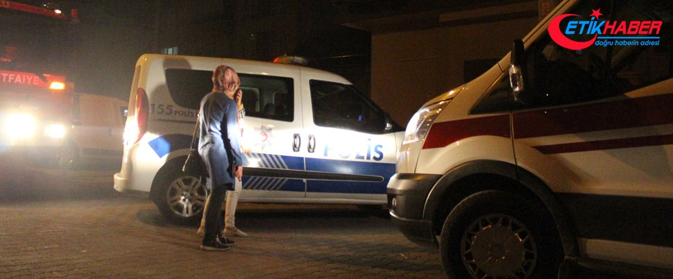 'Beni kurtarın' çığlıkları mahalleyi sokağa döktü