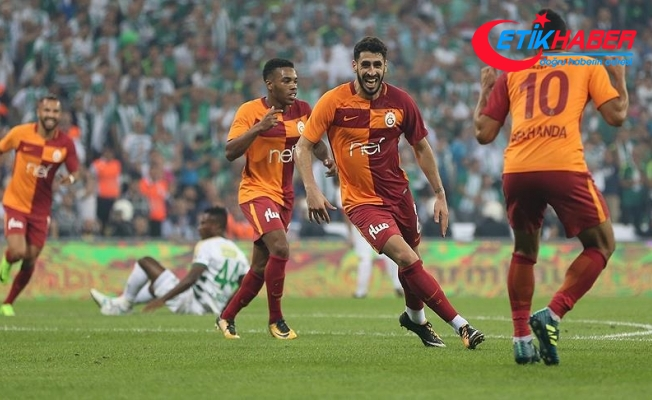Galatasaray Bursaspor karşısında puan kaybetmedi