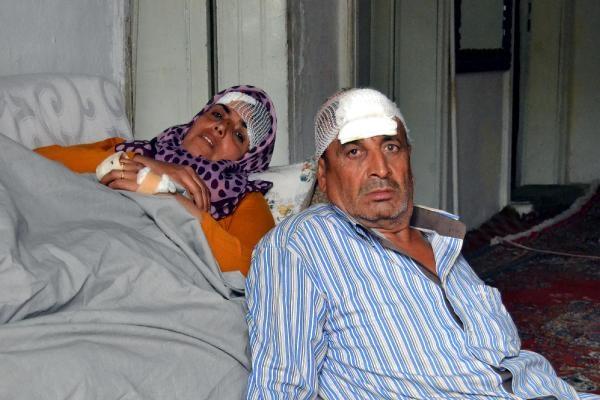 Hırsızlar, Suriye'den kaçan Türkmen çifti dövüp, paralarını aldı