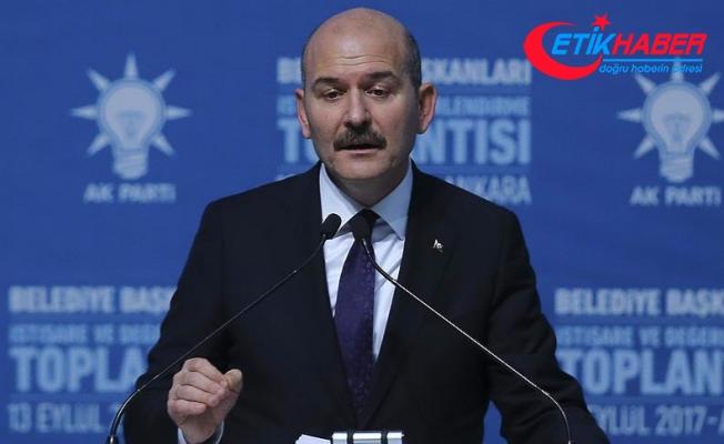 İçişleri Bakanı Soylu: Bizde teröristin belgesi şehit cenazeleridir