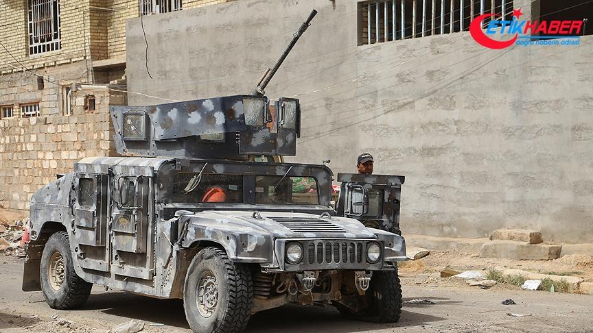 Irak ordusu Enbar'ın batısını DEAŞ'tan kurtarmak için operasyon başlattı