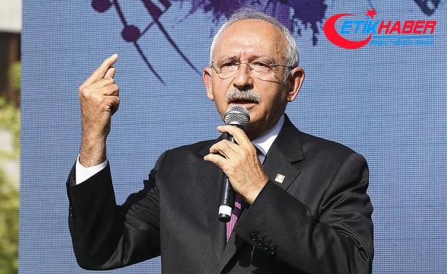 Kılıçdaroğlu: Bu ülkede huzuru birlikteliği hep birlikte sağlayacağız