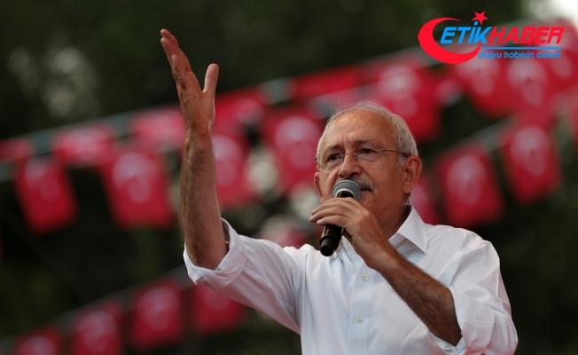 Kılıçdaroğlu: Demokrasi varsa o ülke büyür, insanlar düşüncelerini özgürce ifade ederler