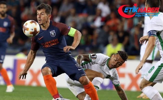 Medipol Başakşehir grup maçlarına 1 puanla başladı