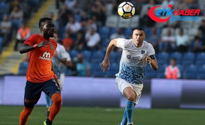 Medipol Başakşehir ile Trabzonspor yenişemedi