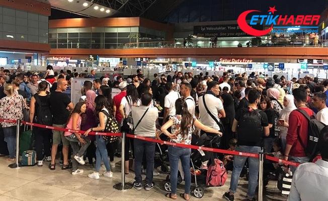 İstanbul Sabiha Gökçen'de yolcu sayısı yüzde 8 arttı