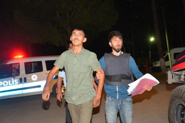 Atatürk büstüne motolof atan PKK yandaşı tutuklandı