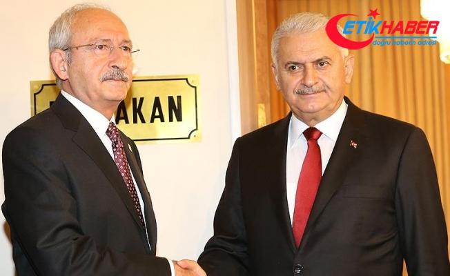 Başbakan Yıldırım ile CHP Genel Başkanı Kılıçdaroğlu görüştü