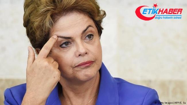 Brezilya'da eski Devlet Başkanı Rousseff'in mal varlığı donduruldu