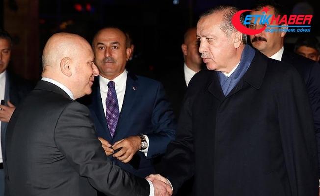 Cumhurbaşkanı Erdoğan Baykal'ı ziyaret etti
