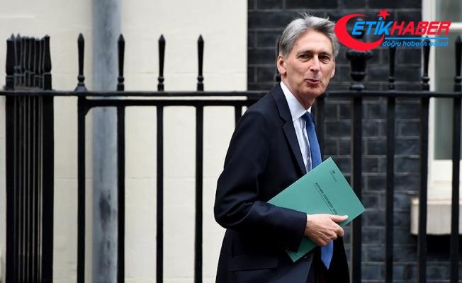 """İngiltere Maliye Bakanı Hammond AB'yi """"düşman"""" olarak tanımladı"""