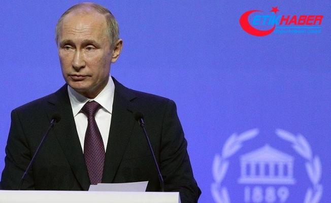 Putin: Trump ile ayrı bir toplantı gerçekleştirememiş olmamız, ülkelerimiz arasındaki krizin devam ettiğini gösteriyor