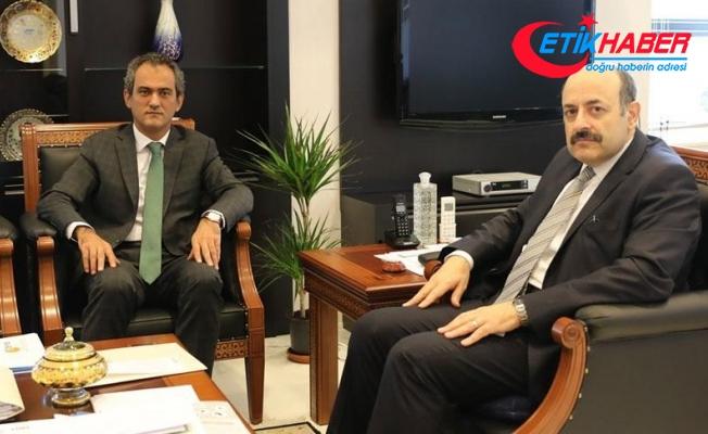 YÖK Başkanı Saraç, ÖSYM Başkanı Özer ile görüştü