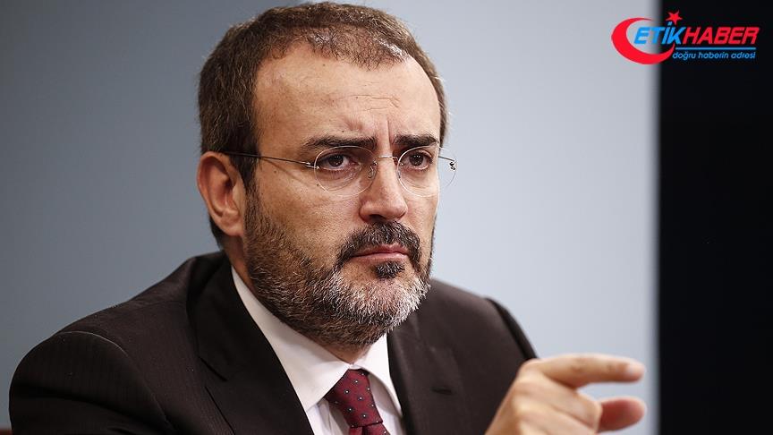 AKP'li Ünal: ABD'nin sorumsuzca aldığı bu karar tarafımızca yok hükmündedir
