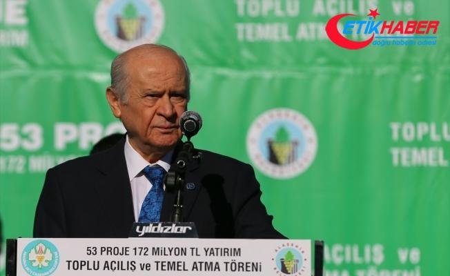 Bahçeli: Türkiye payimal edilemeyecek, payidar kalacaktır.