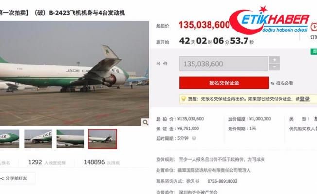 Çin'de internetten uçak satışı
