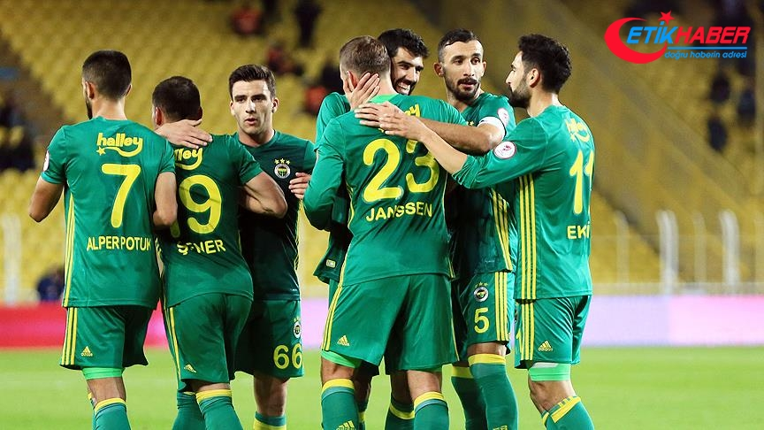 Fenerbahçe, Adana Demirspor'u 6-0 yendi