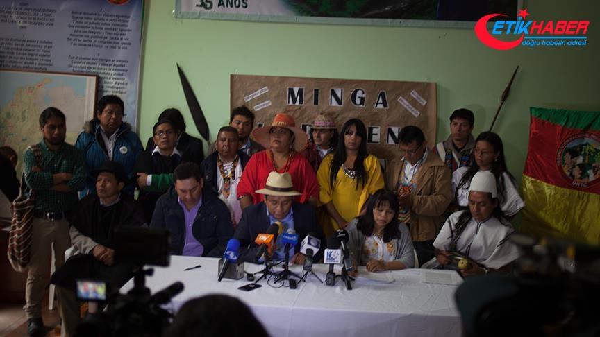 Kolombiya hükümeti ve yerliler anlaştı