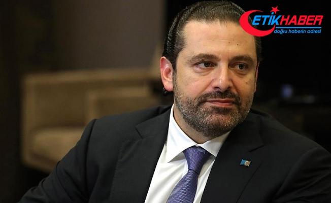 """Hariri """"Lübnan'a döneceğim"""" açıklamasını yineledi"""