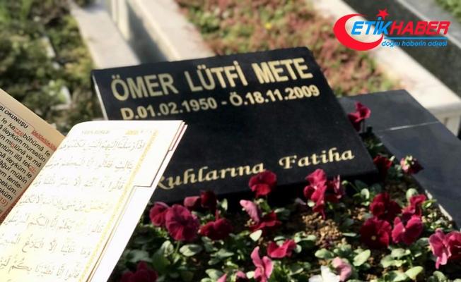 Ömer Lütfi Mete vefatının 8. yılında anıldı