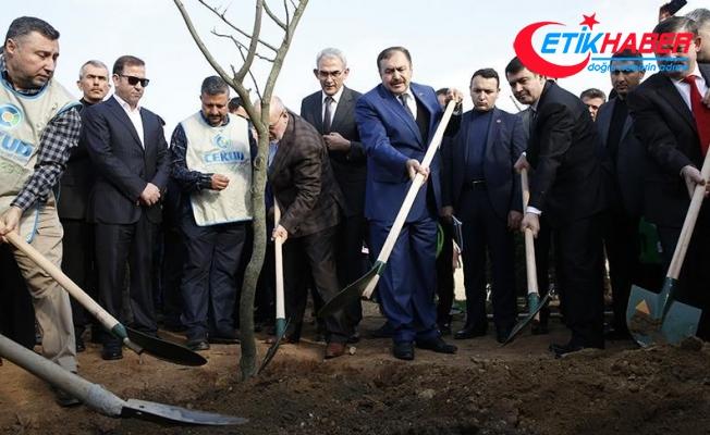 Orman ve Su İşleri Bakanı Eroğlu: New York Central Park'ın üç katı büyüklüğünde bir alanı hazırladık