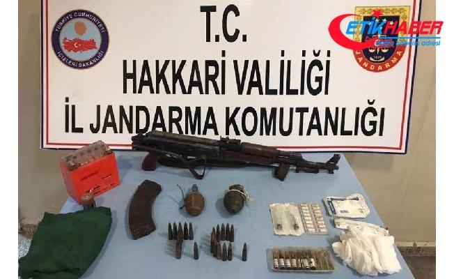 Yüksekova ve Şemdinli'de PKK'ya ait silah ve mühimmat ele geçirildi
