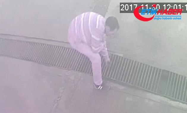 Akaryakıt istasyonunun mazgallarını 3 gün arayla 2 kez çaldı