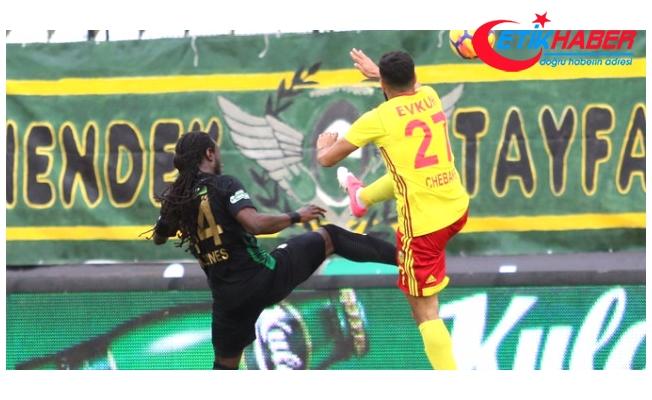 Akhisarspor, Yeni Malatyaspor'la Golsüz Berabere Kaldı