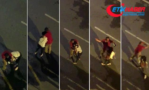 Antalya'da sokakta yürüyen kadını taciz eden adam yakalandı